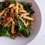 Gluten free Sun-dried tomato broccolini pasta