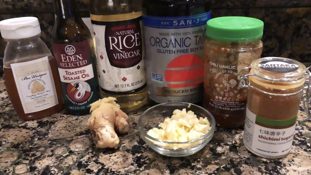 stir fry marinade ingredients for chicken