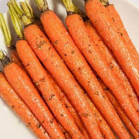 Honey Roasted Coriander Carrots