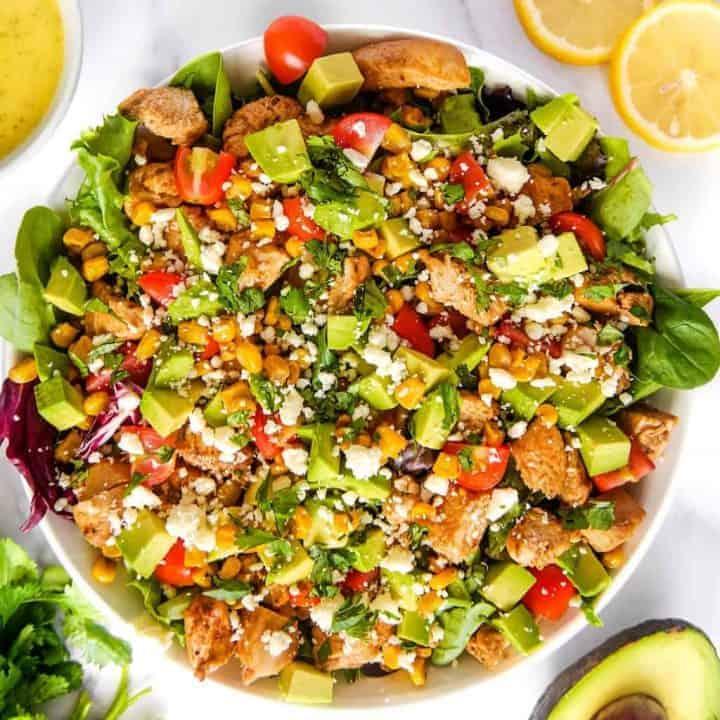 Mexican Garden Chicken Salad